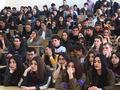 Выступление перед студентами Горского государственного аграрного университета во Владикавказе