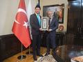 Мухтасиб Мухетдин провёл рабочую встречу с представителем Института Юнуса Эмре