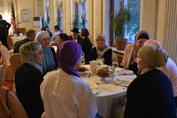 Первый ифтар в Генеральном консульстве США в Петербурге